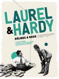 affiche du film Laurel et Hardy : délires à deux