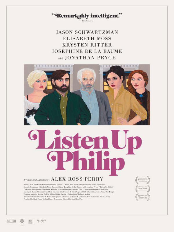 affiche du film Listen Up Philip