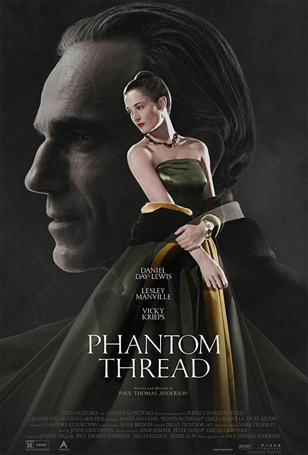 affiche du film Phantom Thread