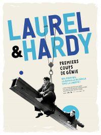 affiche du film Laurel et Hardy : premiers coups de génie