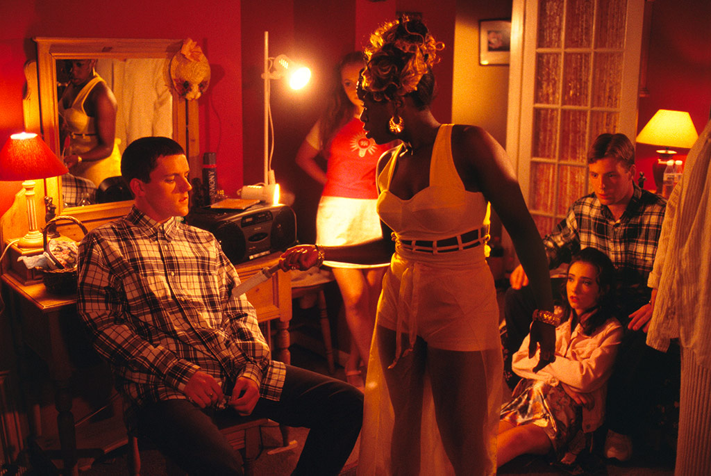 Glen Berry, Tameka Empson, Scott Neal dans Beautiful thing