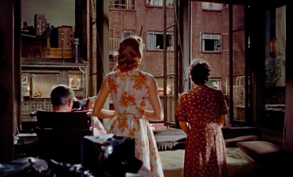 James Stewart, Grace Kelly dans Fenêtre sur cour