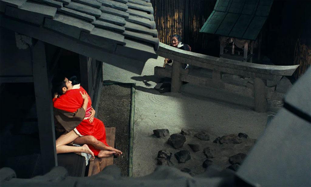 Eiko Matsuda, Tatsuya Fuji dans l'empire des sens