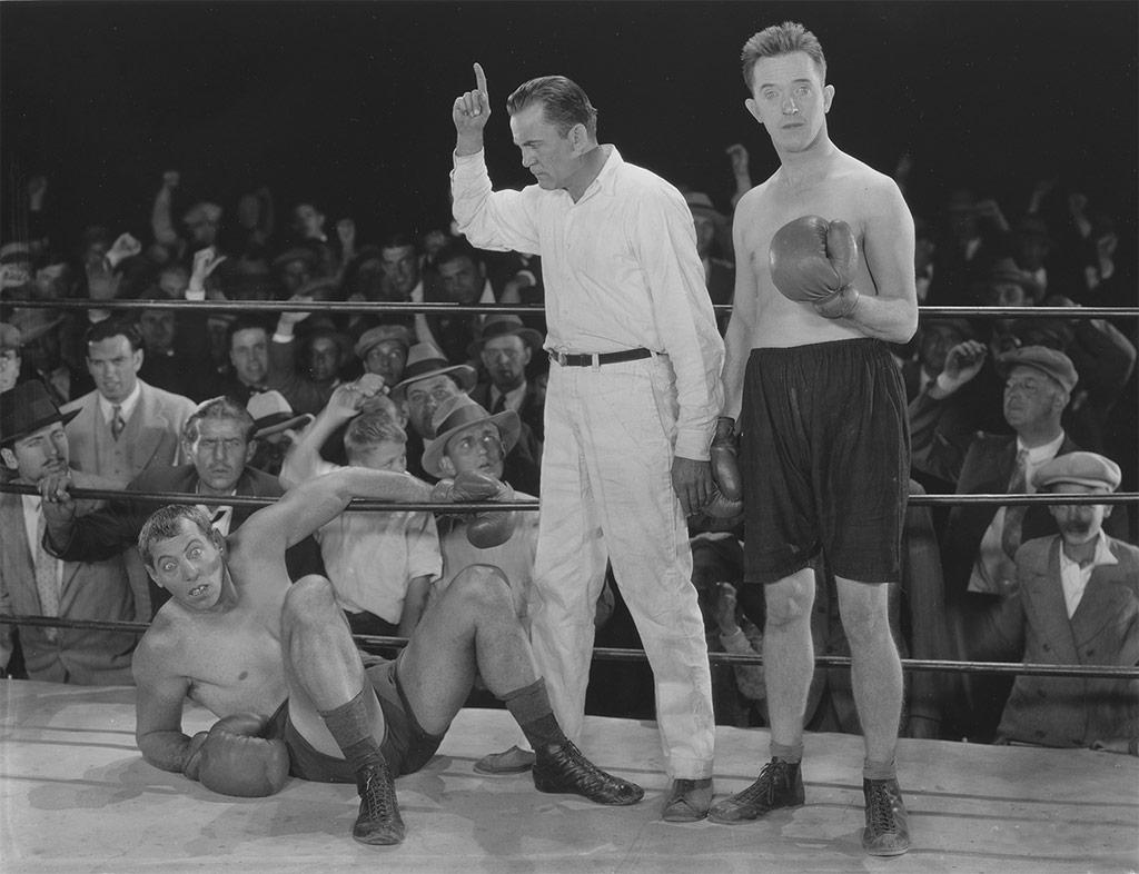 Laurel et Hardy dans La Bataille du siecle
