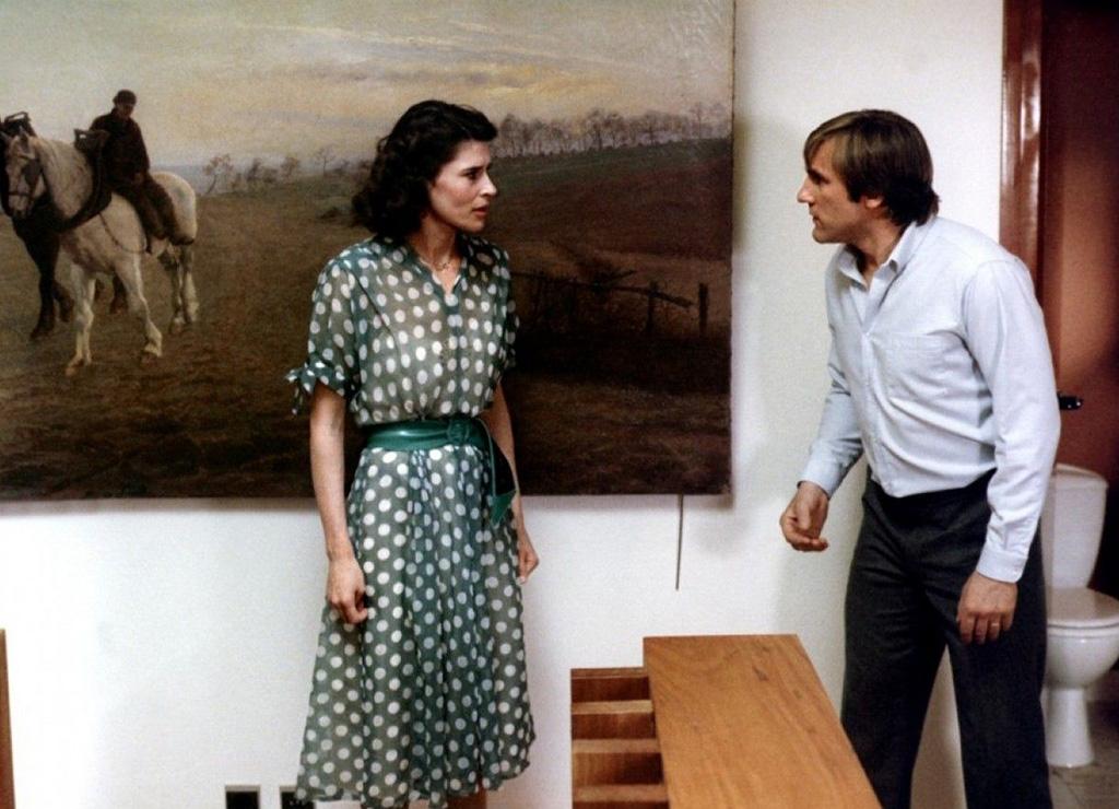 Gérard Depardieu, Fanny Ardant dans La Femme d'à côté