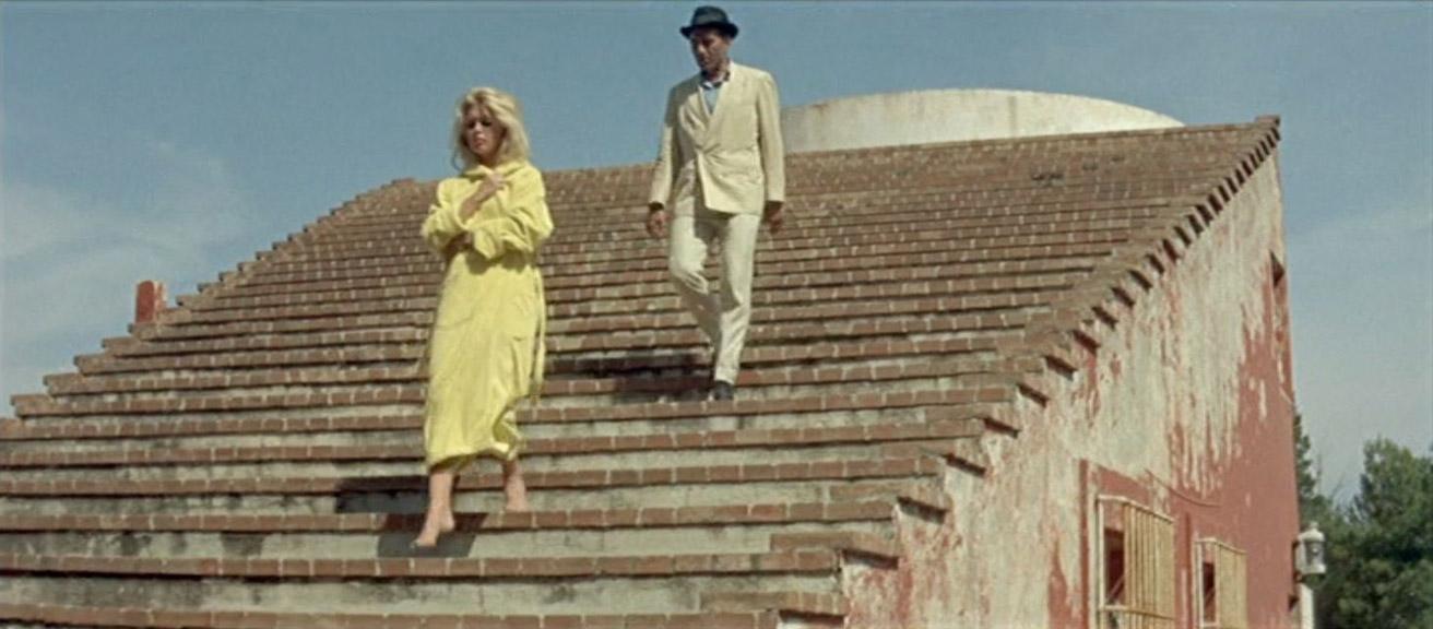 Brigitte Bardot, Michel Piccoli dans Le Mépris