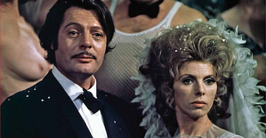 Marcello Mastroianni, Billie Whitelaw dans Leo the Last