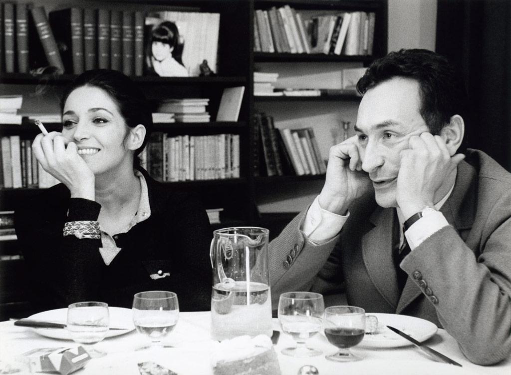Antoine Vitez, Françoise Fabian dans Ma nuit chez Maud