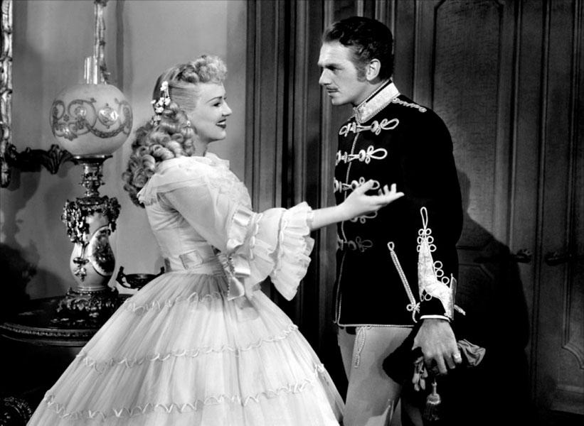 Douglas Fairbanks Jr., Betty Grable dans La Dame au manteau d'hermine