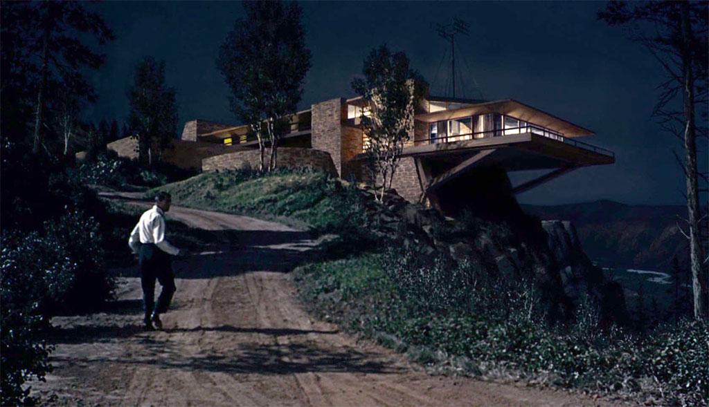 Cary Grant dans La Mort aux trousses