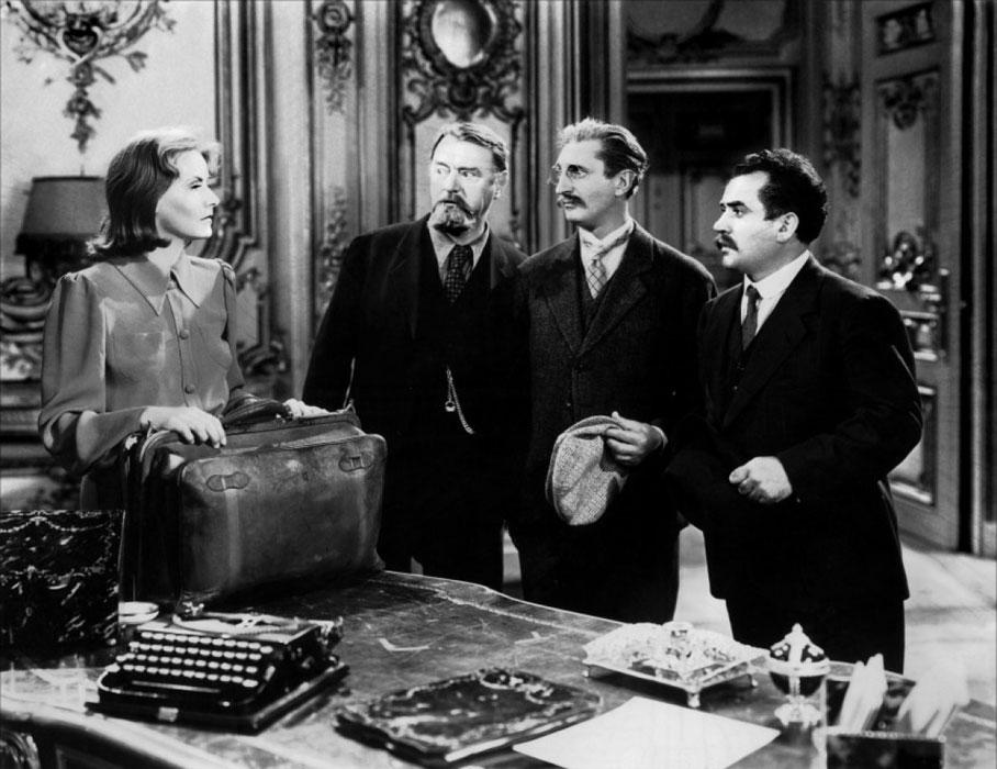 Greta Garbo, Felix Bressart, Alexander Granach dans Ninotchka