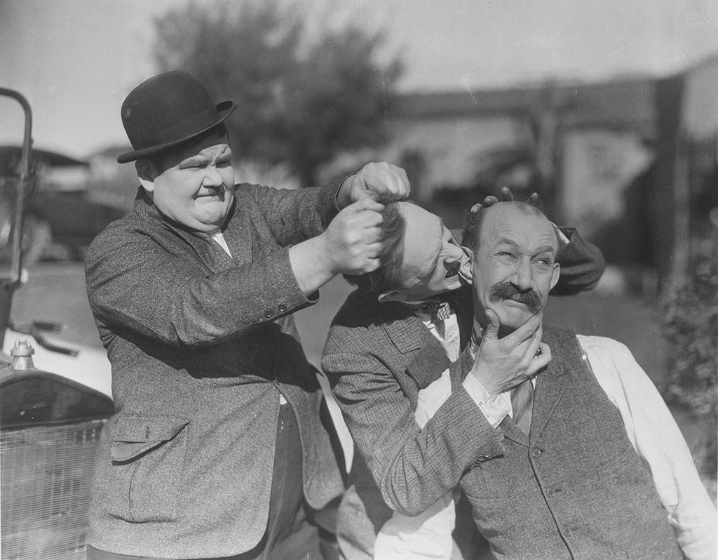 Laurel et Hardy dans Oeil pour oeil