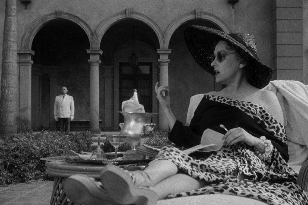 Gloria Swanson, Erich Von Stroheim dans Sunset Boulevard