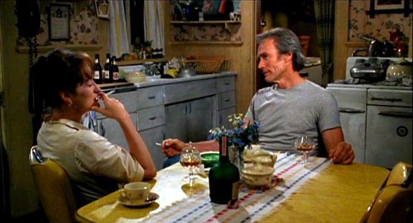 Meryl Streep, Clint Eastwood dans Sur la route de Madison