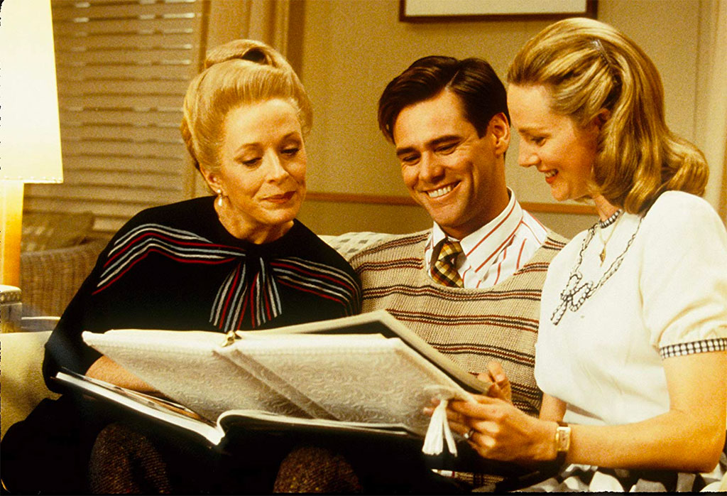 Jim Carrey, Laura Linney, Holland Taylor dans The Truman show