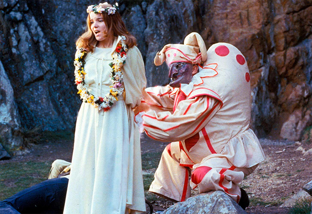 Jennifer Martin, Edward Woodward dans The Wicker man