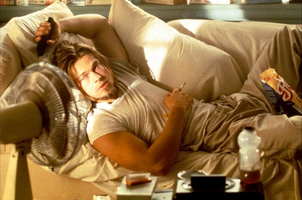 Brad Pitt dans True Romance