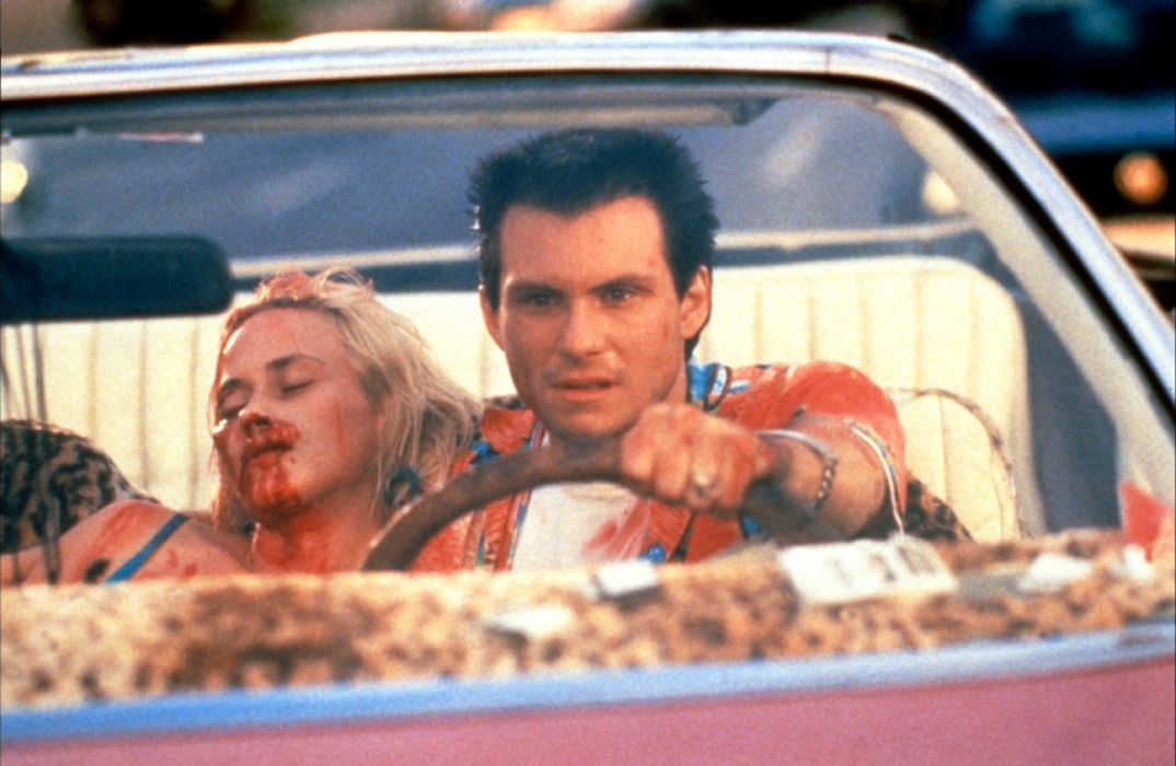 Christian Slater, Patricia Arquette dans True Romance