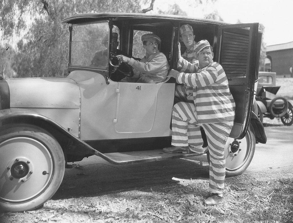 Laurel et Hardy dans Vive la liberté