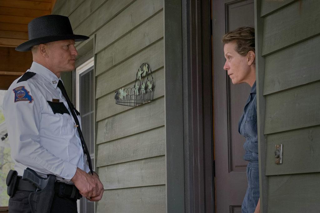Frances McDormand, Woody Harrelson dans 3 Billboards