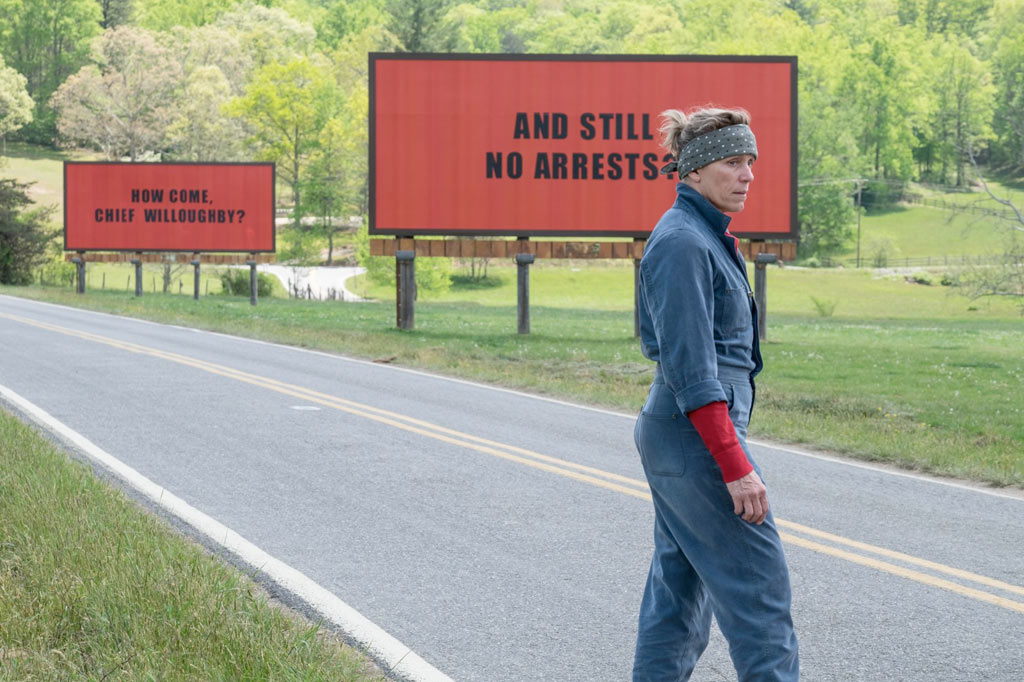 Frances McDormand dans 3 Billboards