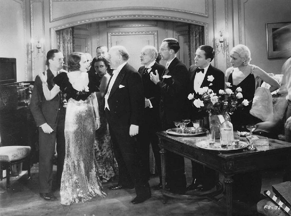 George Brent, Bebe Daniels, Gertrude Keeler, Guy Kibbee, Charles Lane, Robert McWade, Ned Sparks, Marie Arbuckle dans 42ème rue