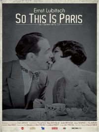 affiche du film So this is Paris