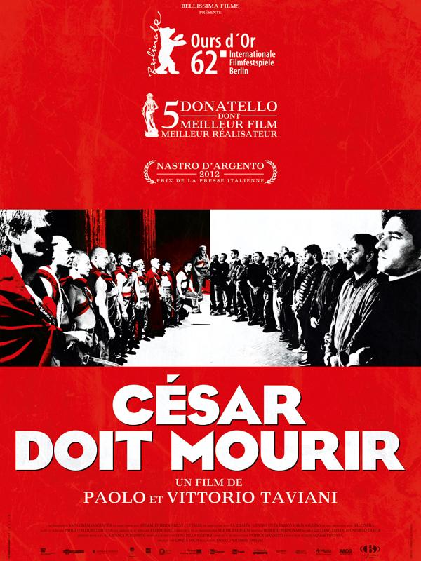affiche du film César doit mourir