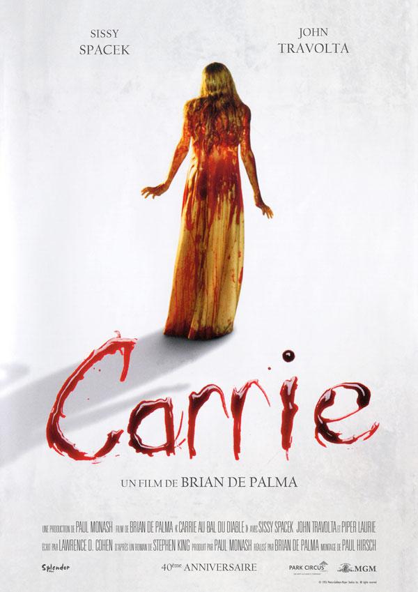 affiche du film Carrie au bal du diable (Carrie)