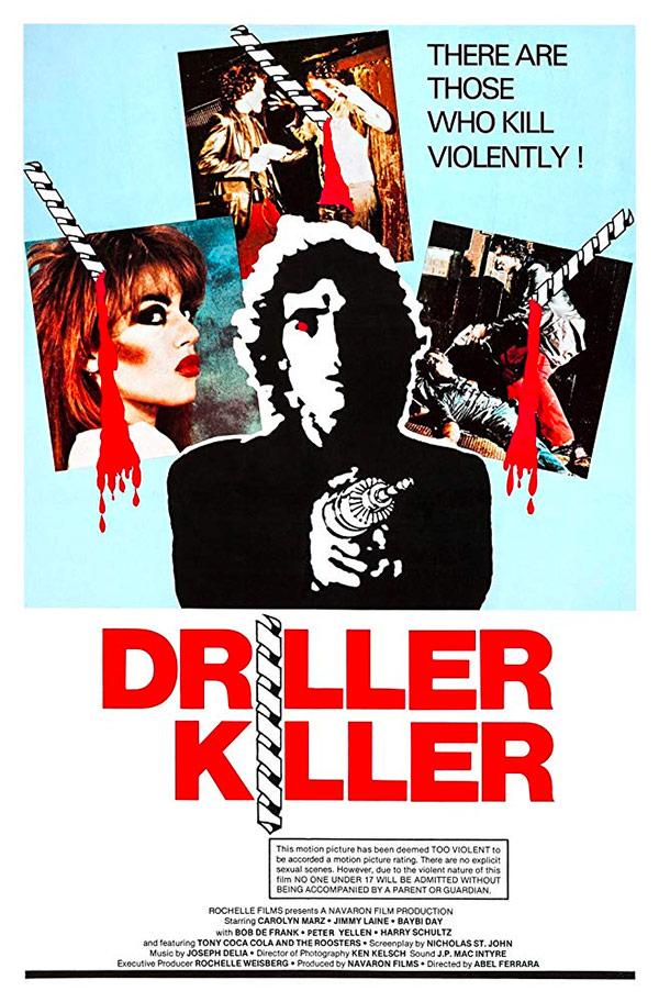 affiche du film Driller killer