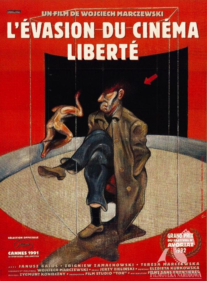 affiche du film L'Evasion du cinéma liberté