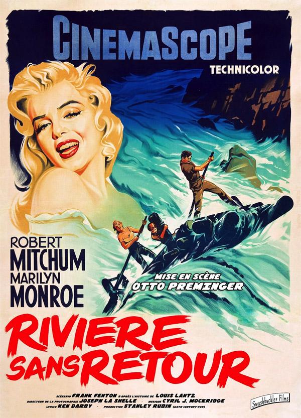 affiche du film Rivière sans retour