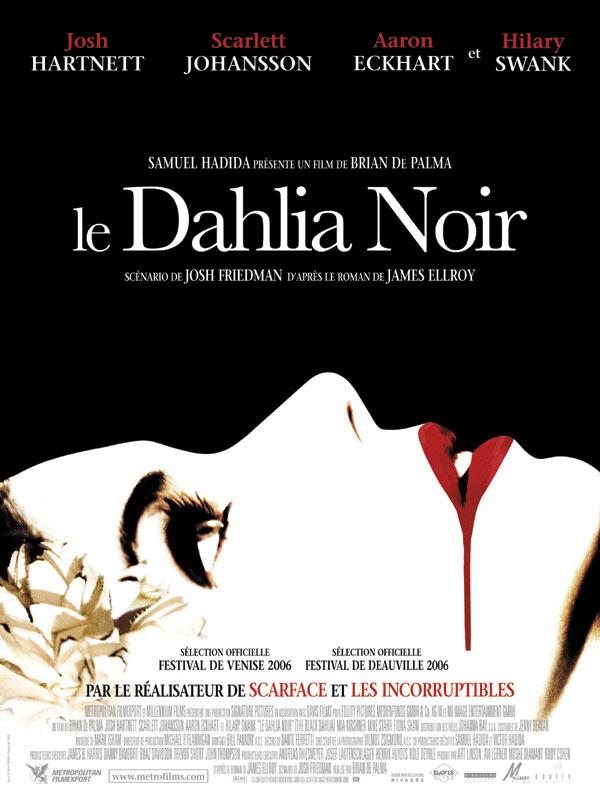 affiche du film Le Dahlia noir (The Black Dahlia)