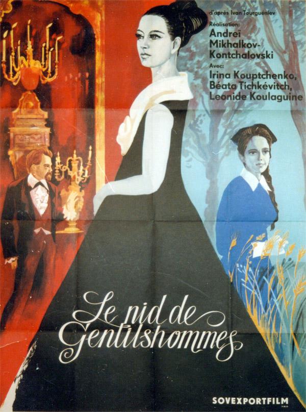 affiche du film Le Nid de Gentilshommes