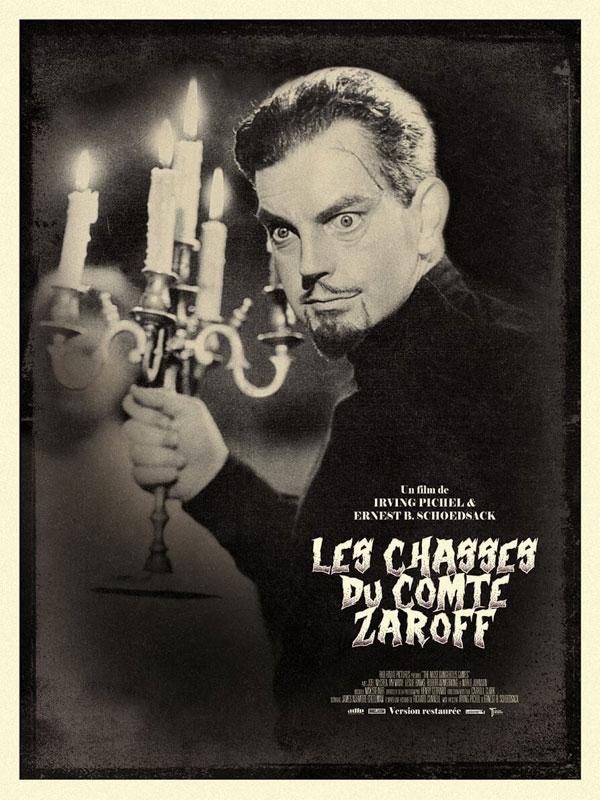 affiche du film Les Chasses du comte Zaroff