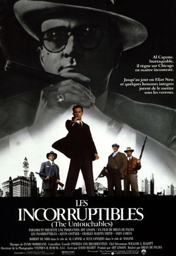 affiche du film Les Incorruptibles (The Untouchables)