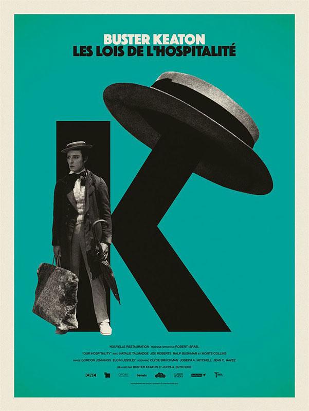 affiche du film Les Lois de l'hospitalité (Our hospitality)