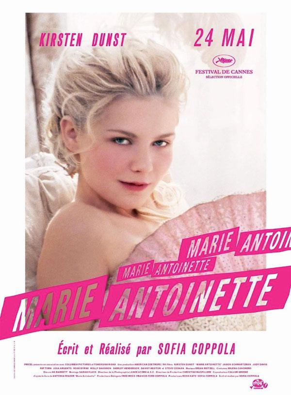 affiche du film Marie-Antoinette
