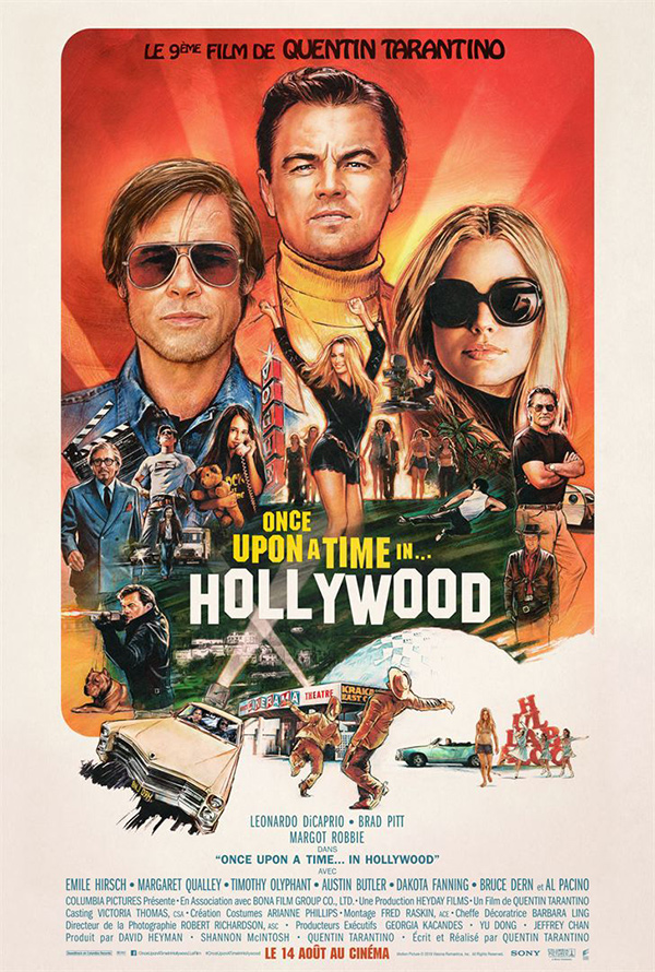 affiche du film Once upon a time… In Hollywood