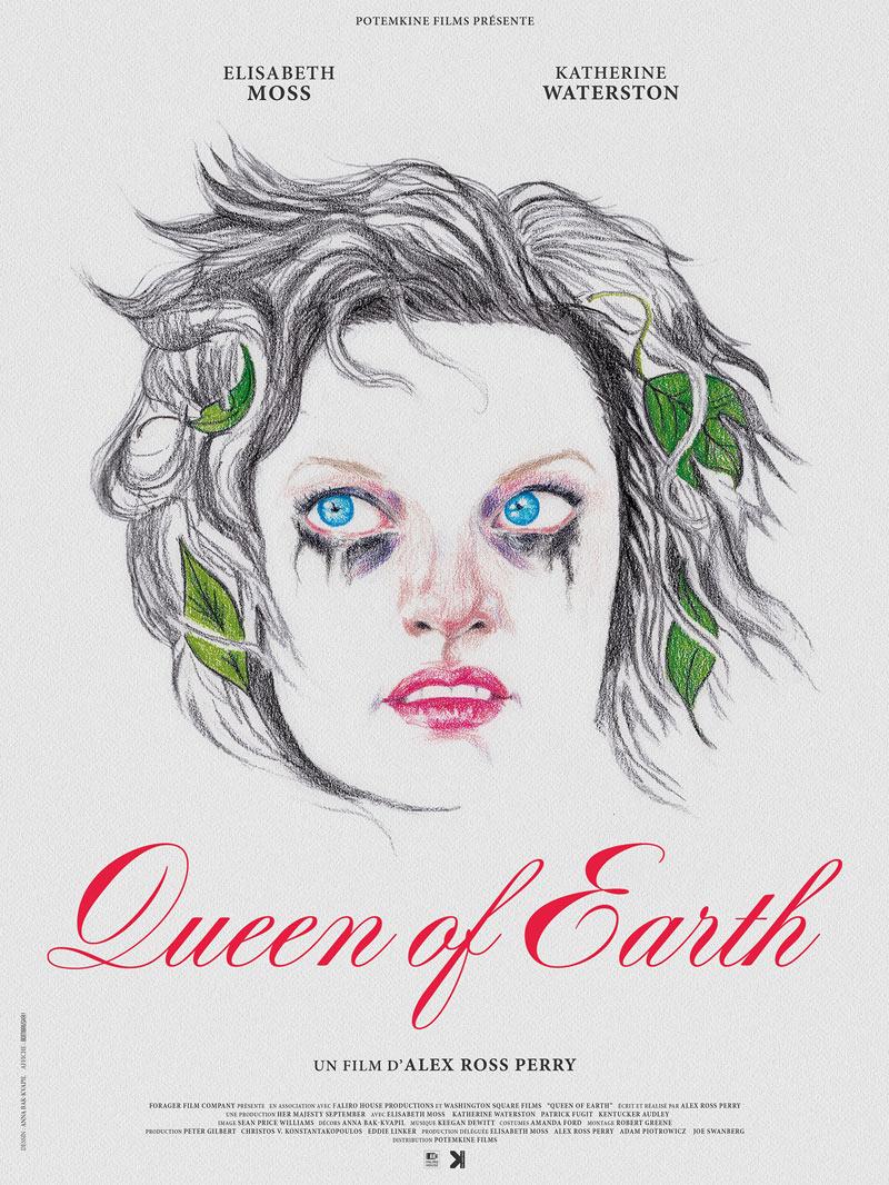 affiche du film Queen of Earth
