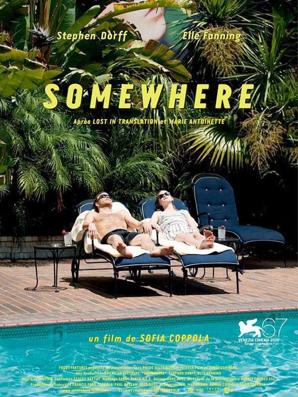 affiche du film Somewhere