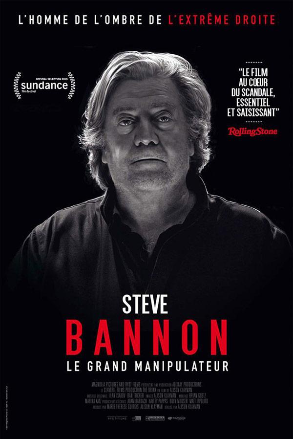 affiche du film Steve Bannon – le grand manipulateur