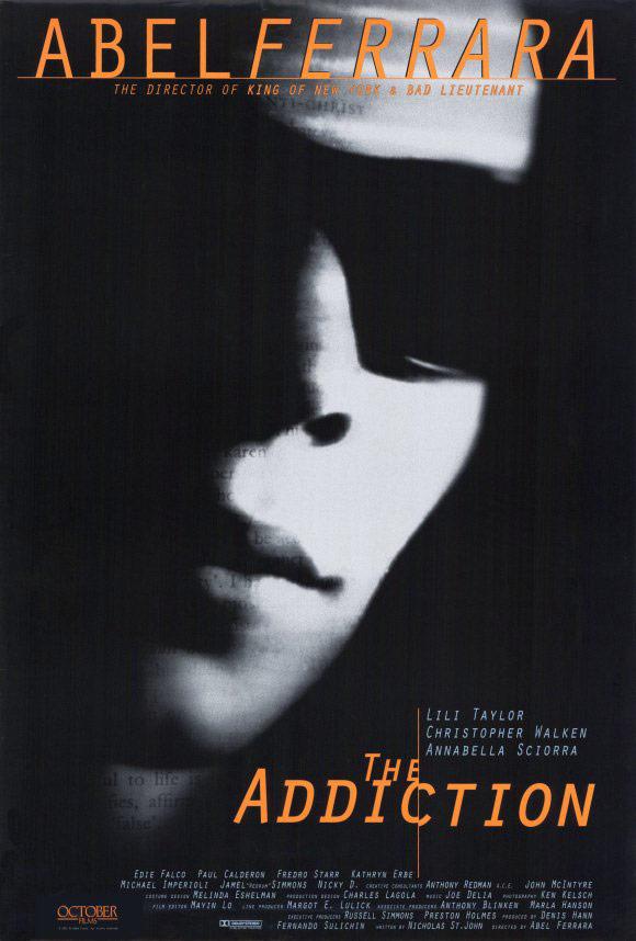 affiche du film The Addiction