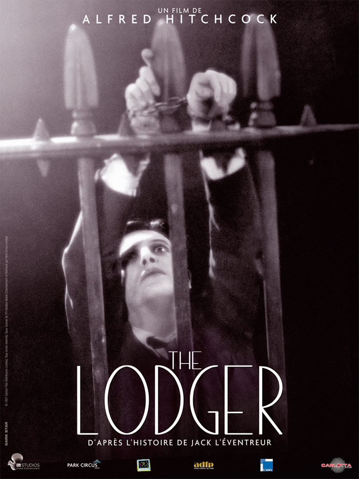affiche du film The Lodger: A Story of the London Fog