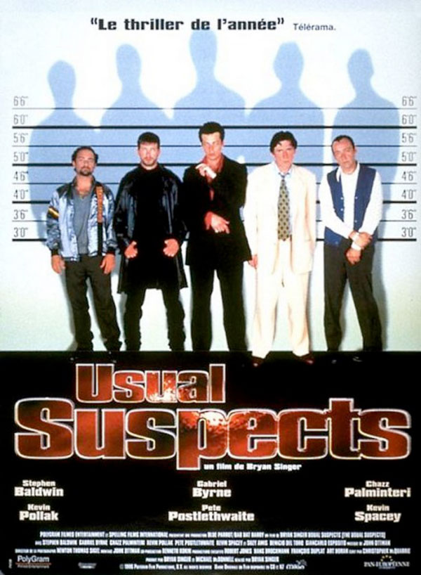affiche du film The Usual Suspects
