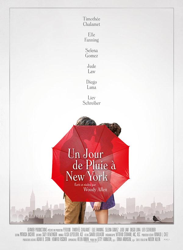 affiche du film Un Jour de pluie à New York (A Rainy Day in New York)