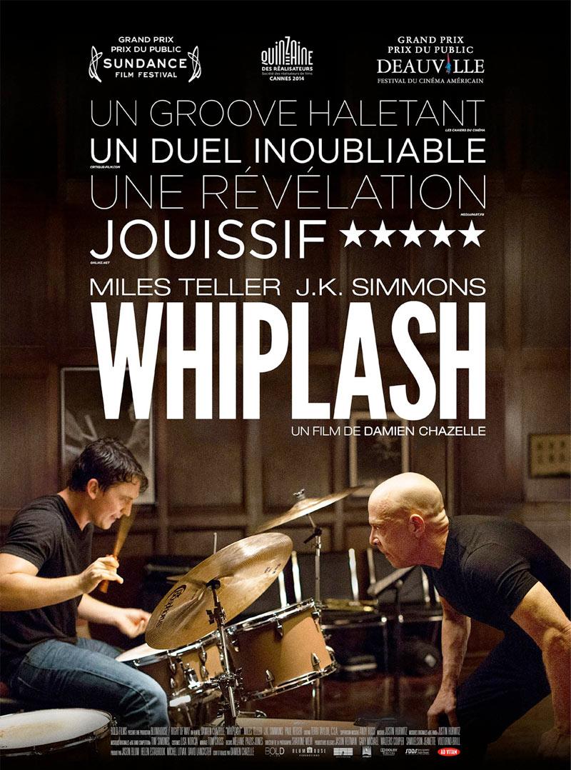affiche du film Whiplash