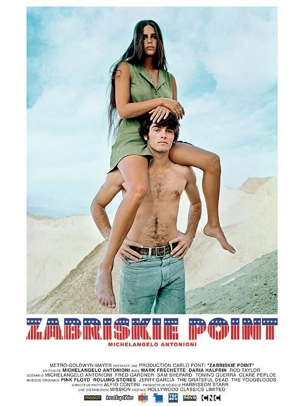 affiche du film Zabriskie Point