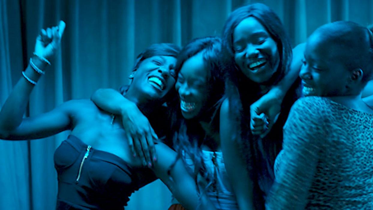 Karidja Touré, Assa Sylla, Lindsay Karamoh, Mariétou Touré dans Bande de filles