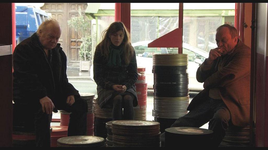Valérie Donzelli, Jean-Christophe Bouvet, Philippe Nahon dans Belleville-Tokyo